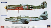 "01952	Самолет Me262A & Fw190D-9 ""JV44 COMBO"" (Two kits in the box)"