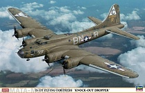 "02044 Самолет  B-17F FLYING FORTRESS ""KNOCK-OUT DROPPER"""