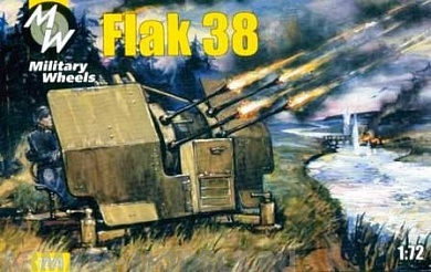 MW7224 Flak 38  / GERMANY / MILITARY WHEELS KITS