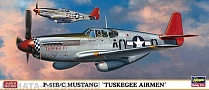 01957 Самолёт P-51B/C Mustang Tuskegee Airmen Limited Edition