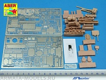 ABR-35 120  Дополнения для   Pz.Kpfw. I Ausf A. Interior – Vol 3 additional set для Tristar 1/35