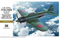 08884 Самолет Mitsubishi A6M5c Zero Fighter Zeke Type 52