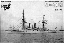 KB70081PE USS Boston Cruiser, 1887