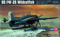 81729 Самолет US F4F-3S Wildcatfish