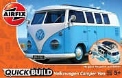 J6024 QUICKBUILD  Camper Van -Blue