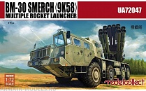 UA72047 Russia BM-30 Smerch 9K58 multiple rocket launcher