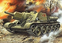 Self-propelled artillery plant SU-122