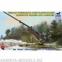 "CB35048 ЗРК German Rheinmetall Long-Range Rocket ""Rheinbote"" (Rh.Z.61/9) (Bronco Models) 1/35"