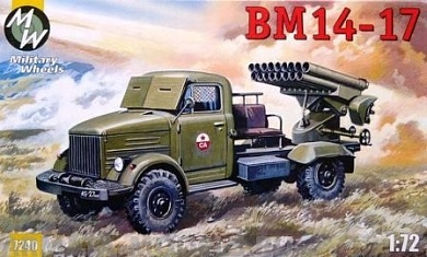 MW7240 BM14-17 MILITARY WHEELS KITS