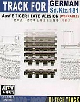 AF35093 Траки German Sd.Kfz.181 Ausf.E Tiger I Late version (workable)