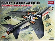 12559 Самолет  F-8P CRUSADER [FRENCH NAVY SPECIAL]