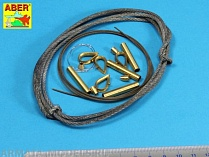 ABR-16-030  Дополнения для  Tow cables & track cable with brackets used on Tiger I, King Tiger & Panther для Various 1/16