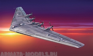 "1277ИТ Самолет X/YB-35 ""Flying Wing"" Italeri, 1/72"