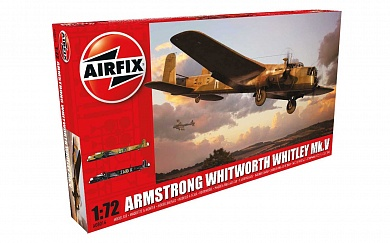 8016А  САМОЛЕТ  Armstrong Whitworth, Whitley Mk.V Airfix, 1/72