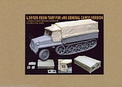 L3512S  Resin Tarp for WWII German sWS General Cargo Version