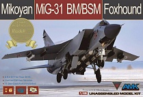 88003-S Самолет Mikoyan MiG-31BM/BSM Foxhound Limited Edition