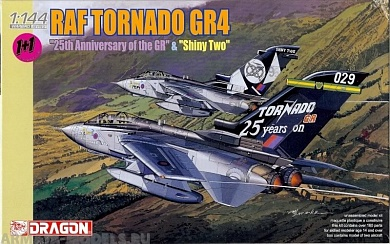 "4606Д Самолет RAF TORNADO GR.4 ""25th ANNIVERSARY OF THE GR"" & ""SHINY TWOamp Dragon"