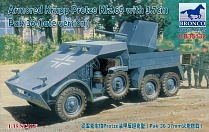 CB35132 Бронемашина Armoured Krupp Protze Kfz.69 with Pak 36 (Late version)  (Bronco Models) 1/35