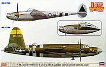 "02091P-38J LIGHTNING and B-26B/C MARAUDER ""OPERATION OVERLORD"" (Two kits in the box)"