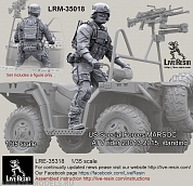 LRM35018 US Special Forces/MARSOC ATV rider 2013-2015, standing