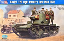 82496 Танк Soviet T-26 Light Infantry Tank Mod.1935