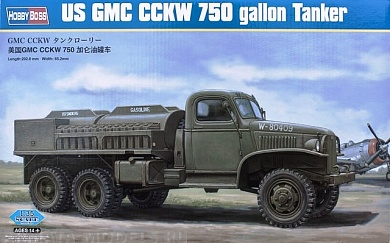83830 Заправщик US GMC CCKW 750 gallon Tanker Version Hobby Boss