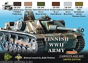 XS08 Набор CAMOUFLAGE SET FINNISH WWII TANKS