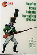 32010MR Фигуры Russan heavy Infantry 1805
