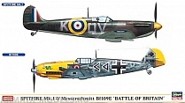 "01909 Самолет Spitfire Mk.I and Bf109E ""Battle of Britain"" Limited Edition"