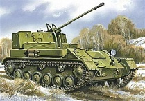 Anti-aircraft self-propelled plant ZSU-37 (1944)