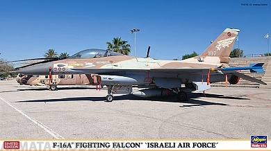 09962 F-16A Fighting Falcon MiG Killer Israeli Air Force Limited Edition Hasegawa